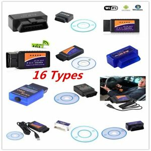 Elm327 V2 1 Obd2 Can Bus Bluetooth Wifi Car Auto Diagnostic Interface Scanner Kx