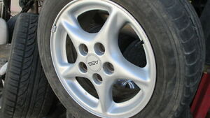1998 2002 Firebird Trans Am 16 Twisted 5 Spoke Alloy Silver Color