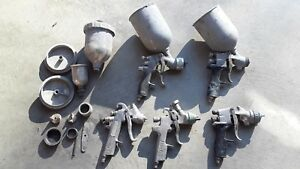 Devilbiss Spray Guns Lot
