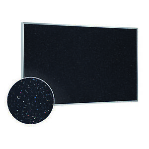 Ghent Recycled Bulletin Board With Aluminum Frame 4 h X 6 w Confetti Atr46cf