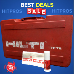 Hilti Case For Te 72 kit Box Only Preowned Free Grease Fast Shipping