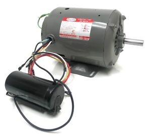 Dayton Capacitor Start 1 Hp Motor 115 230 V 1725 Rpm 56 Frm 6k237c 1 Phase