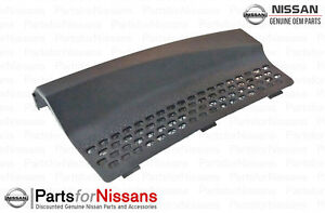 2007 2013 Nissan Versa Front Grille Cowl Cover Oem New Genuine 66820 em30a