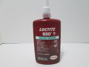 Loctite 1835196 Green 680 Retaining Compound 250 Ml Bottle Expiration 03 2020