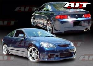 2002 2004 Acura Rsx Zen Style Full Body Body Kit By Ait Racing Front Rear Sides