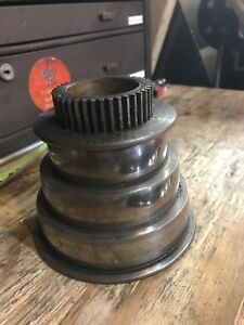 Logan 10 Lathe Headstock 3 Step Pulley cone From Model 940