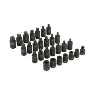 Craftsman 28 Piece 1 2 Inch Drive Impact Sae Mm Hex Torx E torx Bit Socket Set