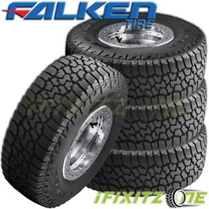 4 Falken Wild Peak A T3w 255 70r17 112t All Terrain Any Weather Rugged Tires