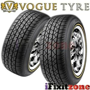 2 Vogue Tyre Custom Built Wide Trac Touring Ii 225 60r16 98h Performance Tires