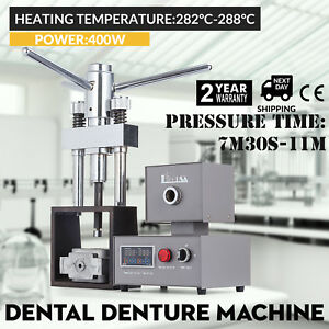 Dental Flexible Denture Machine 400w Lab Equipment Dentist Hot Press Promotion