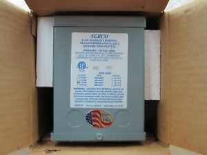 Sebco 1109 250 Watt Transformer 120v Primary 12v Secondary Free Shipping