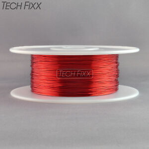 Magnet Wire 20 Gauge Awg Enameled Copper 630 Feet 2 Lbs Coil Winding 155c Red