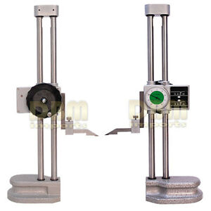 Double Dual Twin Beam 12 Dial Height Gage 001 Digital Digit Counter Gauge