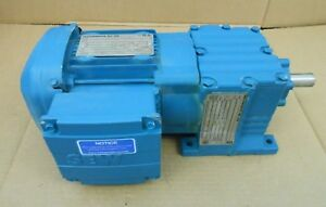 New Sew eurodrive Drs71s2ln 1 2hp Gear Motor R17drs71s2ln 10 15 Ratio 325rpm Out