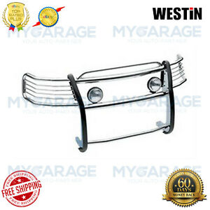 Westin For 07 13 Chevy Suburban 1500 Sportsman Polished Grille Guard 45 2110