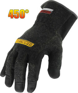 Ironclad Heatworx Reinforced Cut Resistant Safety Gloves Large Pair
