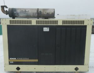 130 Kw Kohler Gm Natural Gas Or Propane Generator Genset Mfg 2007