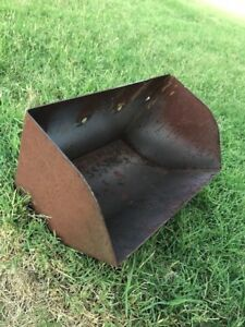 Metal Elevator Bucket Rustic Large Vintage Metal Buckets D Cor Storage