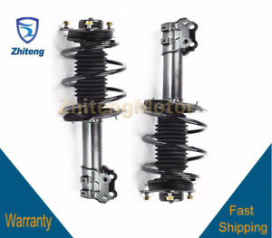 Fit For 2011 Hyundai Sonata Front 2 Rh Lh Complete Quick Strut Coil Spring