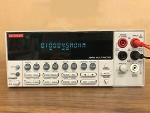 1pc Used Keithley 2000 6 1 2 Digital Multimeter Ship Express h660g Yd