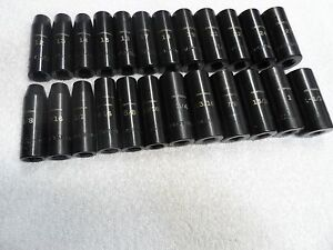 Craftsman 1 2 Drive Impact Sae Mm Deep Socket Set 24 Pcs 3 8 1 1 16 12 27