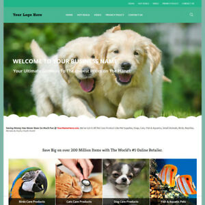 Online Pet Care Store Website Business For Sale Amazon Clickbank Work At Home