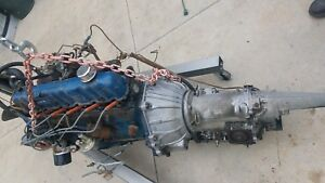 1967 Ford Mustang Six Cylinder Engine And Transmission