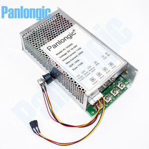 10 50v 200a Reversible Dc Motor Speed Controller Pwm Control Soft Start 10000w