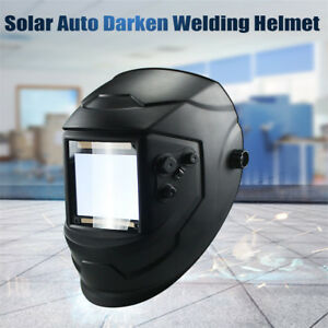 Black Welder Lens Tool Welding Helmet Adjustable Welder Mask Auto Darkening