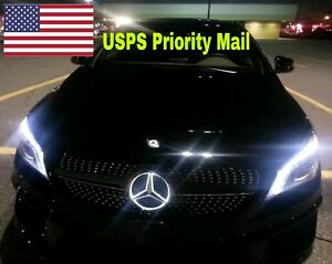 Illuminated Led Light Front Grille Star Emblem Badge For Mercedes Benz 2011 2017