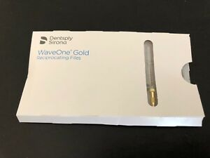5 Packs Of Tulsa Dental Waveone Gold Small Yellow 25mm Wave One