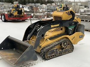 Vermeer 50ctx Mini Skid Loader Pro Maintenance With Detailed Records obo