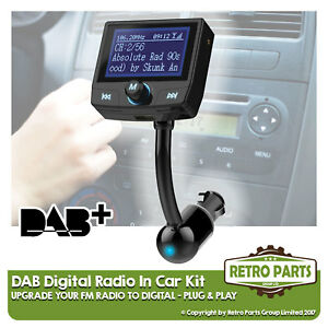 Fm To Dab Radio Converter For Opel Vectra C Gts Semplice Stereo Upgrade Diy