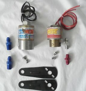 Nos Cheater Nitrous Fuel Solenoid Kit 16000 16050
