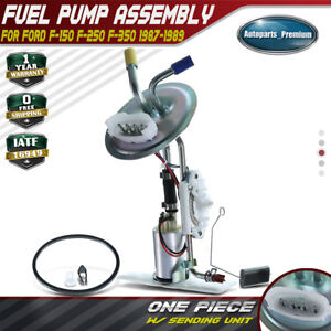 Fuel Pump Assembly For Ford F 150 F 250 F 350 W rear Steel Tank 1987 1989 E2104s