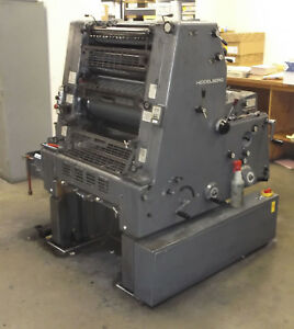 1984 Heidelberg 52 1 c Press With Numbering Option