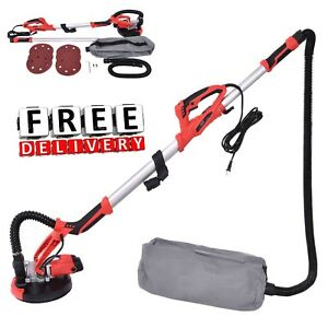 Electric Drywall Sander 800w Adjustable Variable Speed Portable Vacuum Collector