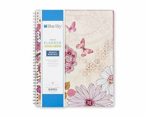Blue Sky 2017 2018 Academic Year Weekly Monthly Planner Twin wire Bound 8 5