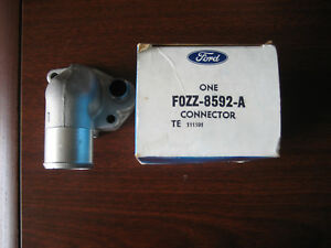 Ford Nos Oem Thermostat Housing For Various 5 0 Engines fozz 8592 a