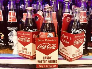 Three 3 Vintage Handy Coca Cola Holders 3x Special Lot Deal Wsl See Pics