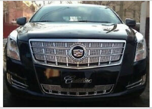 New In Box Cadillac Xts Platinum Edition Oe Upper Lower Grilles