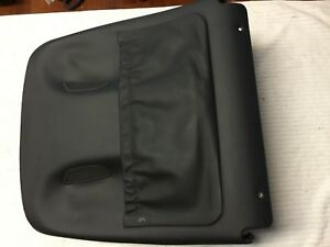 03 06 Mercedes E500 W211 Front Driver Side Back Seat Cushion Cover Trim Black