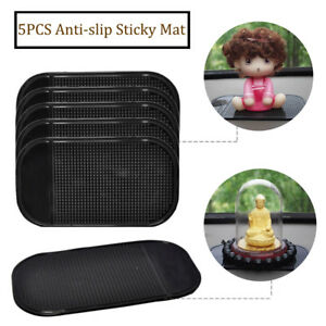 5 Pcs Anti Slip Mat Holder Dashboard Sticky Pad Non Slip Car Magic Cell Phone
