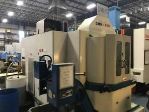 Daewoo Dmh 400 Horizontal Machining Center New 2000 1 Degree 4th 60 Atc