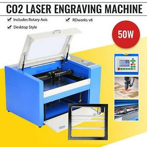 50w Co2 Usb Laser Engraving Cutting Machine Engraver Cutter Woodworking crafts P