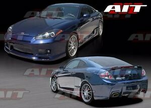 For Hyundai Tiburon 2007 2008 Gts Style Full Body Kit By Ait Racing