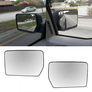 Heated Mirror Glass Arrow Turn Signal Right Side Rh For 07 14 Chevy Gmc Pickup