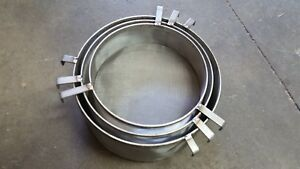 Stacking Stainless Steel Drum Filters For 55 Gal Drums Fits Plastic metal Drums