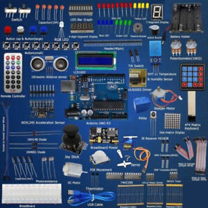 Adeept Ultimate Starter Learning Kit Set For Arduino R3 Lcd1602 Servo Process Br