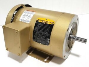 New Baldor Cem3550 Ac Electric Motor 1 5hp 1 1 2hp 230v 460v 3500rpm 56c
